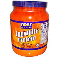 Протеин из яичного белка, Now Foods, 544 г