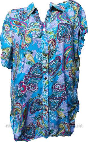 Женская блузка батал