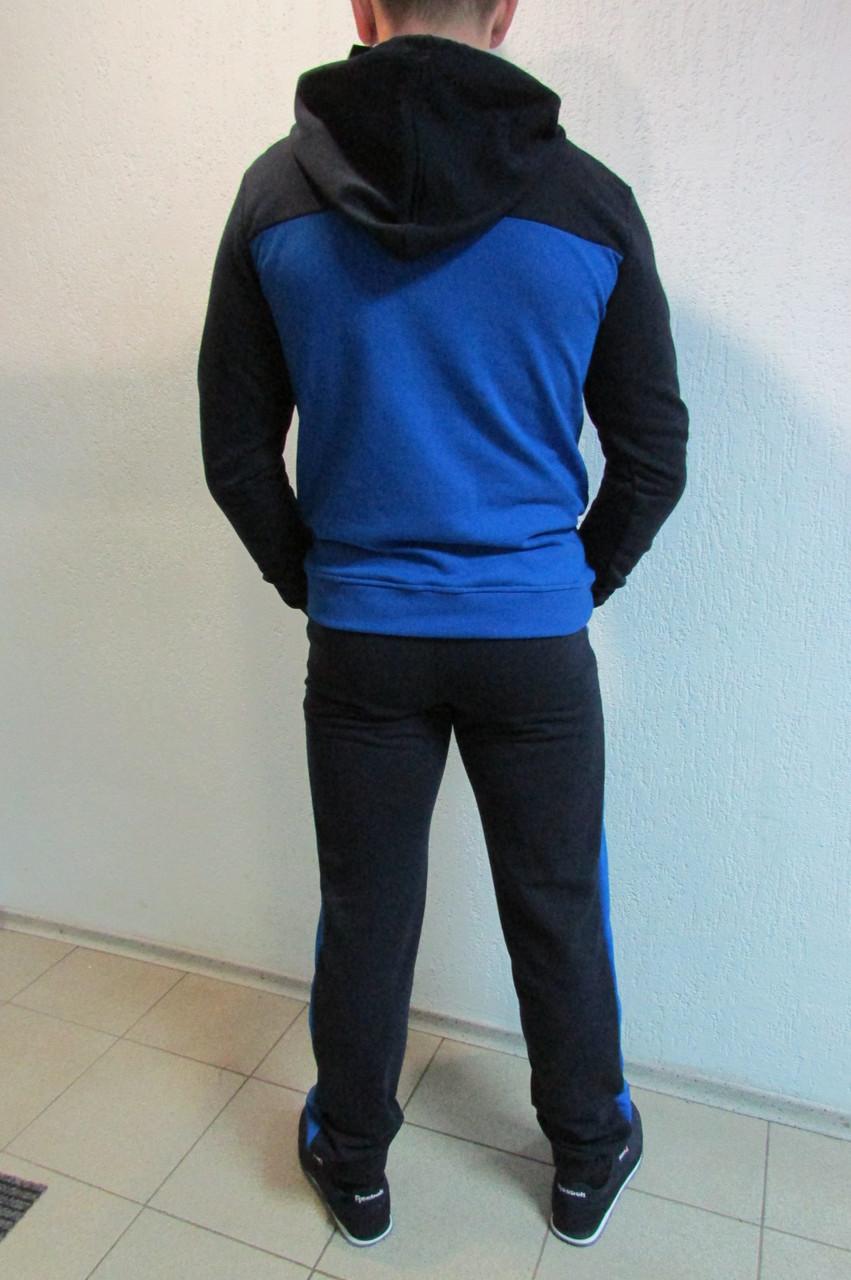 98bcaccc Мужской спортивный костюм Adidas 3474-2 темно синий с голубым код 344б,  цена 1 560 грн., купить в Северодонецке — Prom.ua (ID#269980042)