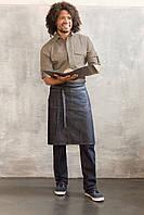 Фартук джинсовый для официанта и бармена стандарт
