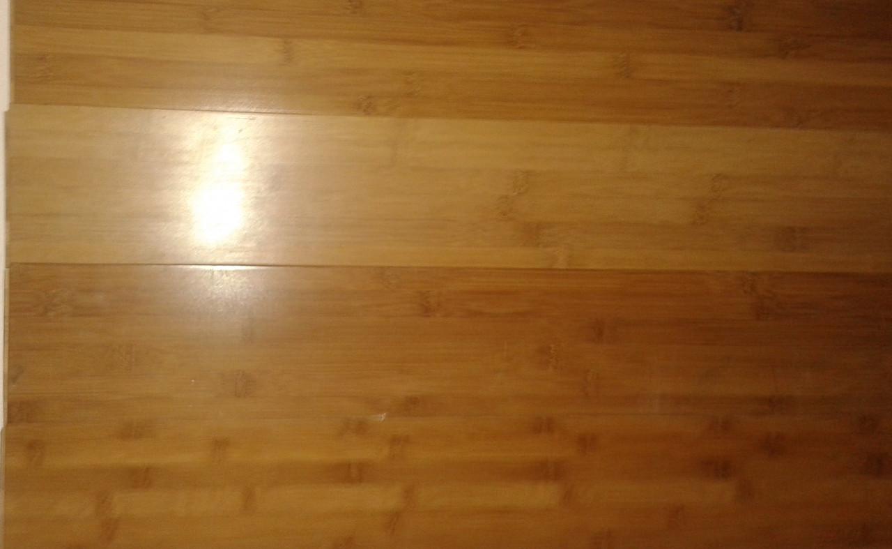 Паркет бамбук светлый 14*120*915