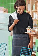 Передник джинсовый для официанта и бармена  TEXSTYLE поясной мини