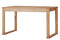 Стол письменный компьютерный из массива дерева 052