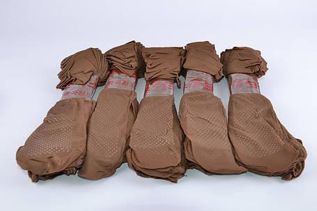 Носки капроновые с тормозом Шоколадный (YL218/Ch) | 10 пар, фото 2