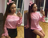 Женская блуза - туника с обручем