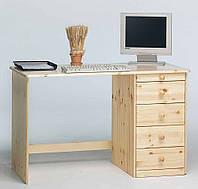 Стол письменный компьютерный из массива 053