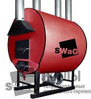 Теплогенератор  SWaG 15 кВт на твердом топливе (дрова, шелуха, опилки, щепа, камыш)