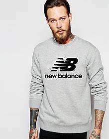 Мужской Свитшот с принтом New Balance