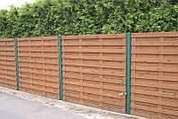 Забор из дерева от производителя