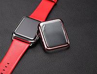 Корпус часов Apple Watch с гальваническим покрытием и стеклом
