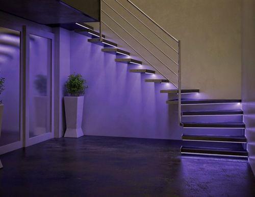 светодиодная подсветка ступеней