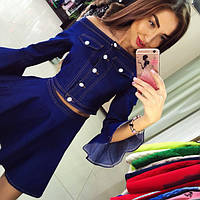 Женский джинсовый костюм DB-726