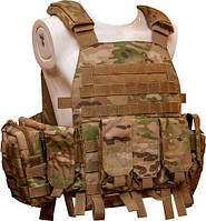Жилет тактический TAR Tactical Vest Multicam NIJ IV (ДСТУ 4 класс) 7,62х54R пуля Б-32 4 пластины