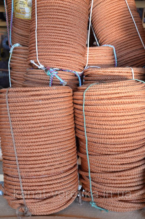 Фал кордовый 10 мм - 50 м. плетенный , фото 1
