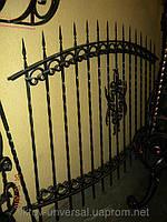 Як вибрати кований паркан?