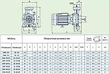 Центробежный промышленный насос Speroni CB 403/A (трёхфазный), фото 4