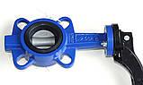 Затвор поворотный Баттерфляй AYVAZ тип KV3 Ду40 Ру16 диск нержавеющая сталь , фото 4