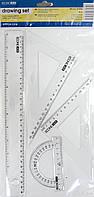 """Лінійки в наборі """"EconoMix"""" 30см 4предм.  E81306"""