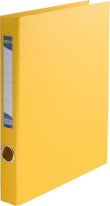 "Папка карт.""BuroMax"" 3,5см  2кільця жовта BM.3101-08"