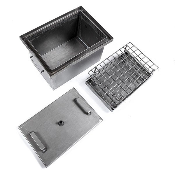 Коптильня горячего копчения с гидрозатвором купить самогонный аппарат магарыч с двумя сухопарниками 12 л