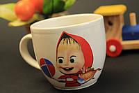 Чашка детская с деколью Маша