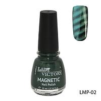 Магнитный лак для ногтей «Magnetic» Lady Victory LMP-02