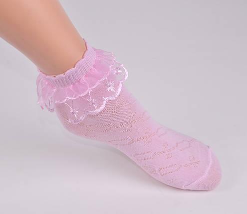 Детские носки с оборкой р.18-20 (D3016/18-20) | 10 пар, фото 2