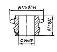 03-04-25Р Звездочка КШП-3  (погрузчик Р6-КШП-6) z=13, t=25.4