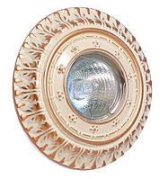 Точечный светильник Ultralight CL 6012 WQD MR16 бежево золотой