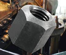 Гайка М10 высокая шестигранная ГОСТ 15523-70, DIN 6330