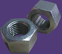 Гайка М22 высокая шестигранная ГОСТ 15523-70, DIN 6330