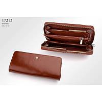Кожаный кошелек женский, цвета в ассортименте