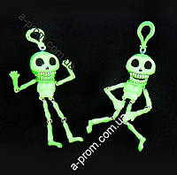 Скелет трещетка светонакопительный (зеленый)