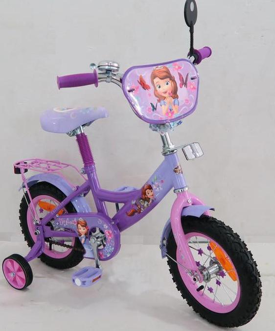 Детский 2-х колесный велосипед 14 дюймов 161401