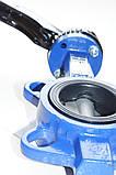 Затвор поворотный Баттерфляй AYVAZ тип KV3 Ду300 Ру16 диск нержавеющая сталь , фото 9