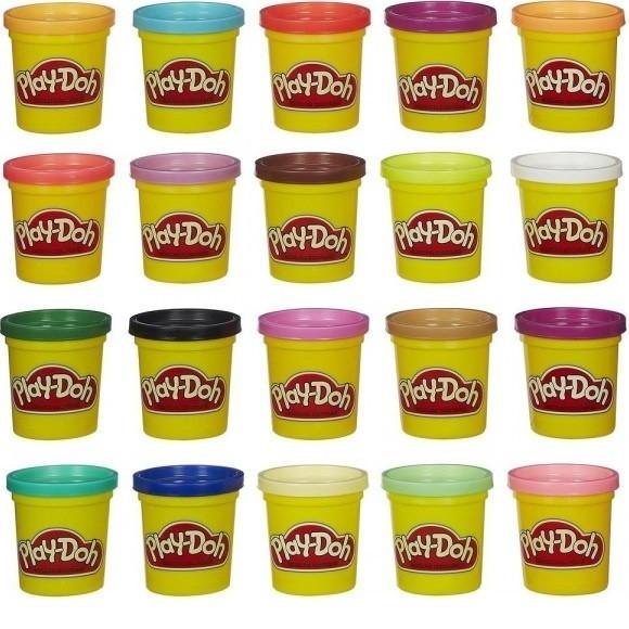 Набір пластиліну Play-Doh 20 баночок
