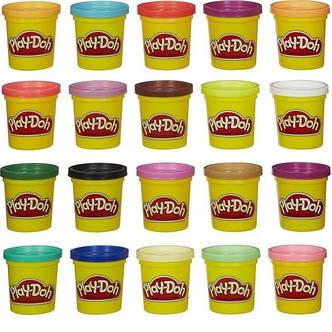 Набір пластиліну Play-Doh 20 баночок, фото 2