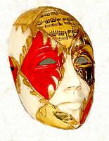 Прокат венецианских карнавальных масок из папье-маше, фото 1