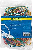 "Резинки для грошей""Buromax"" 50г кольор. BM.5501"