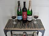 Стол-стелаж для вина Loft Style , фото 4