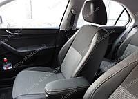 Чехлы на сиденья Шкода Рапид (чехлы из экокожи Skoda Rapid стиль Premium)