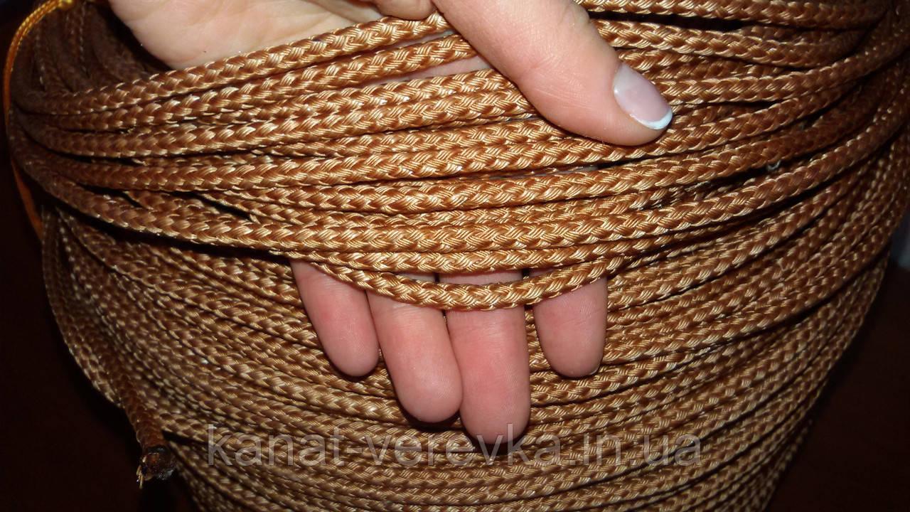 Фал кордовый 6 мм - 50 м. плетенный