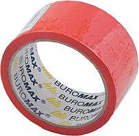 """Скотч """"Buromax"""" 48мм х 35м червоний BM.7007-05"""