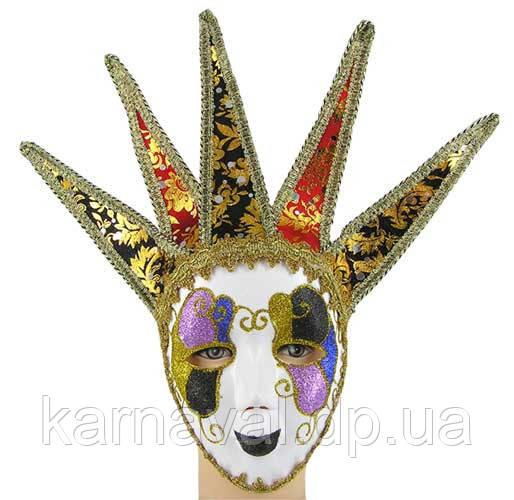 Прокат венеціанських карнавальних масок пластикових
