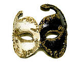 Прокат венеціанських карнавальних масок пластикових, фото 2