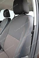 Чехлы на сиденья Шкода Октавия А7 (чехлы из экокожи Skoda Octavia A7 стиль Premium)