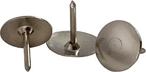 """Кнопки """"BuroMax""""нікельовані 100шт BM.5102"""