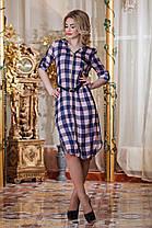 Платье на молнии- д2365 размеры 46-52  , фото 3
