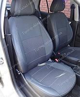 Чехлы на сиденья Шкода Фабия МК 2 Комби (чехлы из экокожи Skoda Fabia Mk2 Combi стиль Premium)