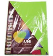 """Цветная офисная бумага """"UniColor"""" А4. 80г (100л) Spring Green"""